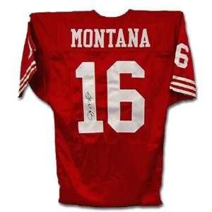 Joe Montana San Francisco 49ers Autographed Jersey Sports