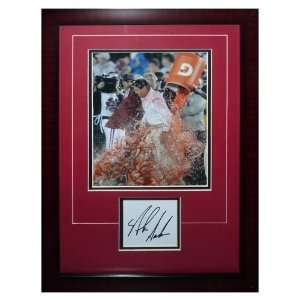 Nick Saban Autographed Alabama Crimson Tide (Gatorade Dunk