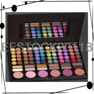 New 78 Color Shadow Blush Eye liner MakeUp Pro Palette