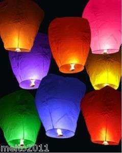 10pcs Sky Chinese Fire Lanterns wish for Party Wedding Birthday Hot 9