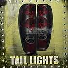 04 08 Chevy Colorado/GMC Canyon Tail Lights Rear Brake Lamps Red Smoke