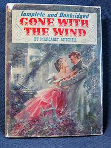 1940 GONE WITH THE WIND Margaret Mitchell THE MOVIE EDITION Second