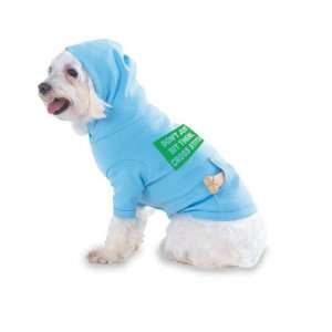 THERE, CROSS STITCH Hooded (Hoody) T Shirt with pocket for your Dog