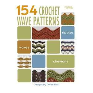 154 Crochet Wave Patterns (Leisure Arts #4312), Sims