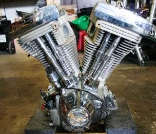 1990 Harley Davidson FL Touring EVO 80ci 1340cc Engine Motor HD