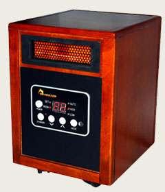 Dr. Heater DR 968 1500 Watt Electric Infrared Quartz + PTC Portable