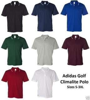 ADIDAS Golf CLIMALITE Tech Athletic POLO Shirt SIZE CLR