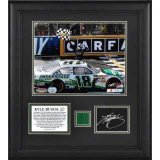 400 Victory, with Autograph Card, Green Flag   Limited Edition of 118