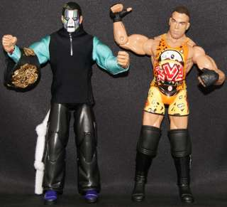 FIVE STAR RIVALRY JEFF HARDY & RVD TNA RINGSIDE EXCLUSIVE 2 PACK
