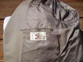 VTG 1970s Mens Western GROSS Lawmans Cruiser Suit 42S   Official