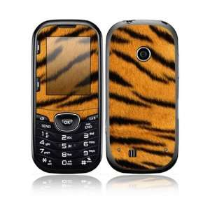Tiger Skin Design Decorative Skin Cover Decal Sticker for LG Cosmos 2