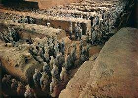 Museum of Terra Cotta Warriors and Horses Xian ~ China