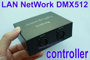 NETwork to DMX512 channel Lighting controller converter LAN