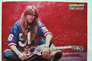 ZAKK WYLDE (Ozzy Osbourne/Black Label Society) + Les Paul   Magazine