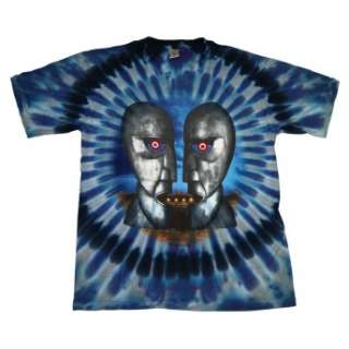 Pink Floyd Division Bell Album Psychedelic Tie Dye T Shirt Brand New