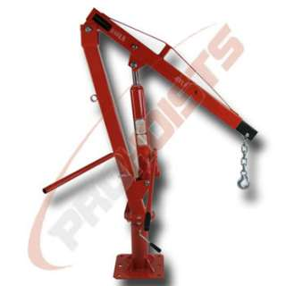 1000LB PICKUP TRUCK HYDRAULIC PWC DOCK JIB ENGINE HOIST CRANE HITCH