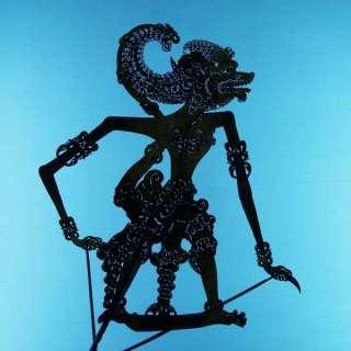 Wayang Kulit Jawa Shadow Puppet Schattenspielfigur cp16