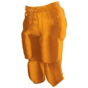 Alleson Youth Nylon/Spandex Football Pants OR   ORANGE YL