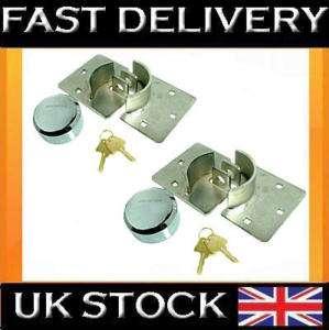 NEW VAN SECURITY PADLOCK & HASP SETS DOOR LOCK 73mm
