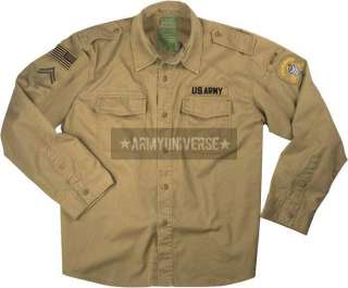 Camo Military Special Forces Vintage BDU Fatigue Shirts