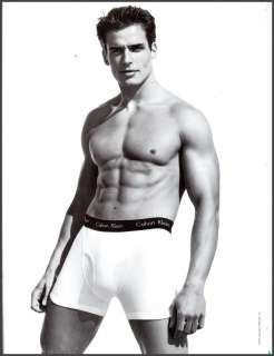 1997 ANTONIO SABATO, JR. Calvin Klein Briefs Photo AD
