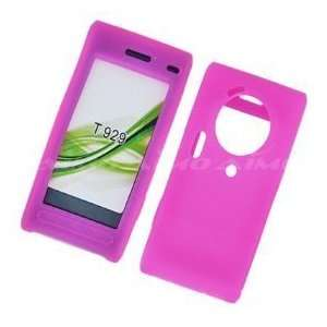 T929 Premium Pink Silicone Case Cover Cell Phones & Accessories