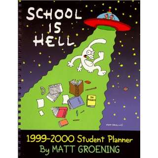 School Is Hell: Student Planner (9780768336412): Books