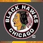 Chicago Blackhawks #1 NHL Hockey Decal Car Bumper Windo