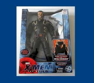 MEN THE MOVIE SERIES WOLVERINE FROM TOY BIZ & MARVEL RARE MIB