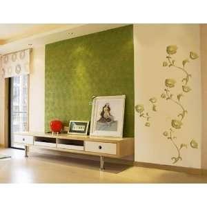 DIY Home Décor Graffiti Type Garden PVC Wall Decal Sticker Wallpaper